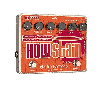 Electro-Harmonix EHX Holy Stain Multi-Effects Guitar Effects Pedal
