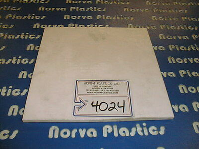 "(4024) Teflon Material 1/2"" Thick 12"" X 12"" For Sale!!!"