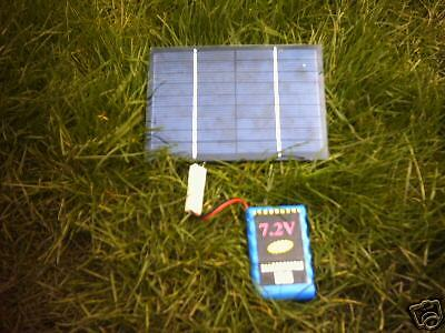 2 Watt Pocket Solar Panel Charger For  Procat Baitboat Battery