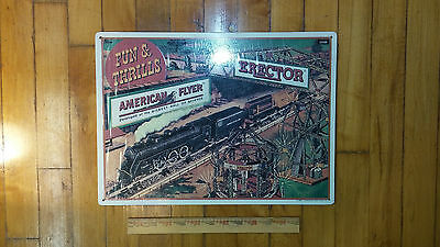 American Flyer Sign near mint condition 1993