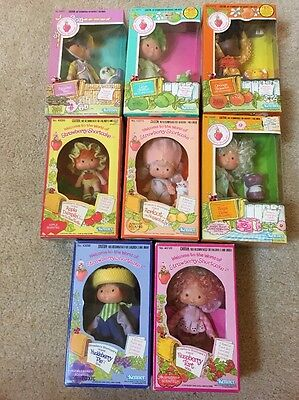 Strawberry Shortcake Vintage Lot Of 8