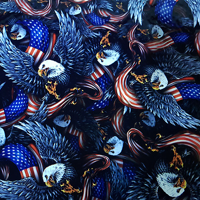 Hydrographic Water Transfer Hydrodip Film Hydro Dipping Dip American Eagle Flag