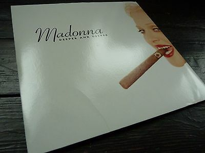 """MADONNA Deeper and Deeper USA PROMO VINYL RECORD DOUBLE 12"""""""