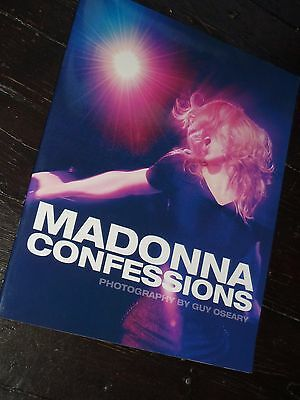 Madonna CONFESSIONS TOUR Promo Glossy Preview Book EXCLUSIVE Blad Unseen Photos