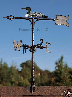 "30"" Loon Rooftop roof mount Weathervane Cabin DUCK Whitehall Products"