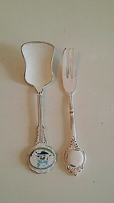 Vintage Painted Cutlery - Display / Decor