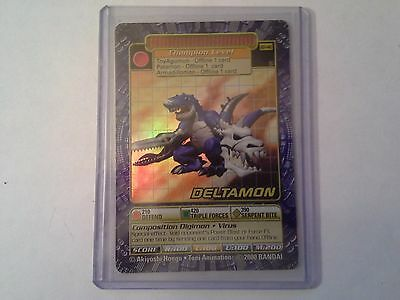Digimon Card Deltamon BO-140 Holo Mint