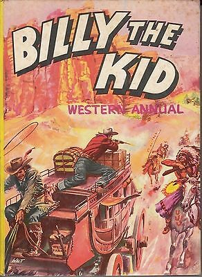 Billy The Kid Western Annual 1958 (Hard Cover) Very Good