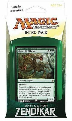 Magic the Gathering: Battle for Zendikar Intro Pack - Zendikar's Rage NEW