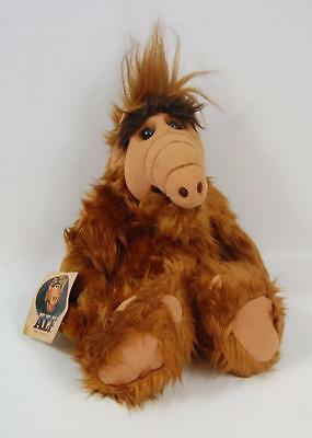 "1986 Coleco Alf 16"" Large Plush Stuffed Animal Vgc With Tag Attached"
