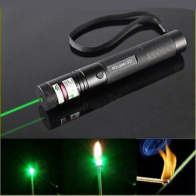 G301 Focus Burn 532nm Green Laser Pointer Pen Lazer Visible Beam 5mw