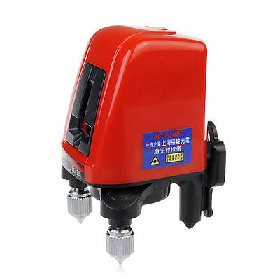 ACULINE AK435 360degree Self-leveling Cross Laser Level Red 2 Line 1 Point