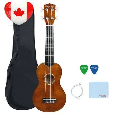 Strong Wind Soprano Ukulele 21 inch Beginer Brown