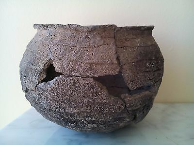 Antique Pre-Columbian Mayan Pottery Bowl  Nr