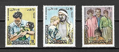 Jordan Sc#726-8 MNH Fathers Day Issue, 1973