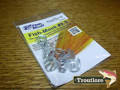 FLYMEN FISH SKULL FISH MASK #8.5 for HOOK SIZE 1/0, 2/0 & 3/0 NEW FLY TYING