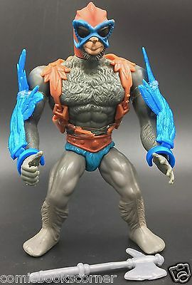 He-Man Masters of the Universe 1982 STRATOS Complete Mattel Blue Wing Variant
