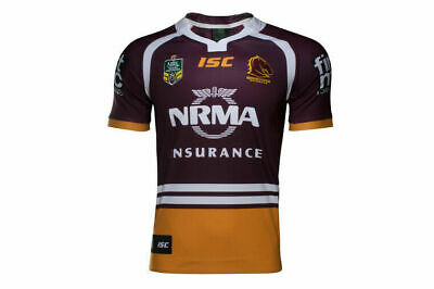 Brisbane Broncos NRL 2017 Home ISC Jersey Adults, Ladies, Kids & Toddlers Sizes!