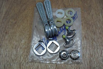 Campagnolo Super Record Twin Down Tube Shifters Braze-On Nos.
