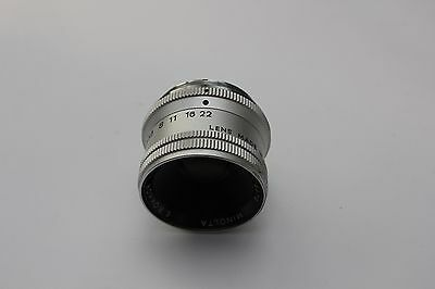 Minolta E.rokkor 75Mm F4.5 Enlarging Lens