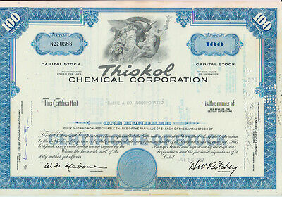3 x THIOKOL CHEMICAL CORPORATION