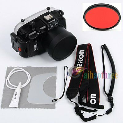 Meikon 40M 130ft Waterproof Diving Case Cover For Sony A5000 16-50mm Camera【AU】