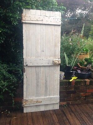 Old Timber Barn Style Door 710w X 1910h