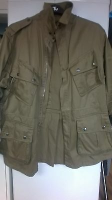 WW2 US Airborne m42 Jump Jacket 44R Chest Reproduction