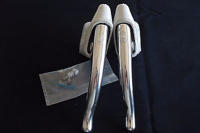 CAMPAGNOLO C-RECORD COBALTO 1st TYPE BRAKE LEVERS NOS.