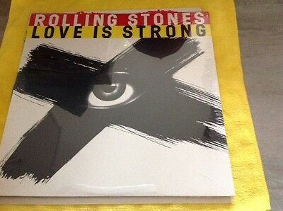 "The Rolling Stones - Love Is Strong 4 Track 1994 12"" Vinyl Record New And Sealed"