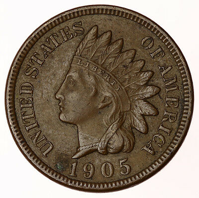 1905 Indian Head Cent USA