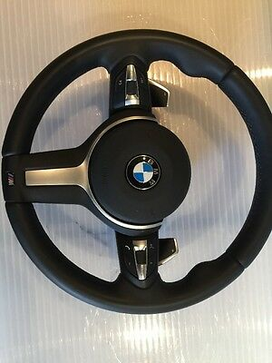 Bmw F30 F31 F15 F25 F20 M Sport Steering Wheel With Paddles And Airbag