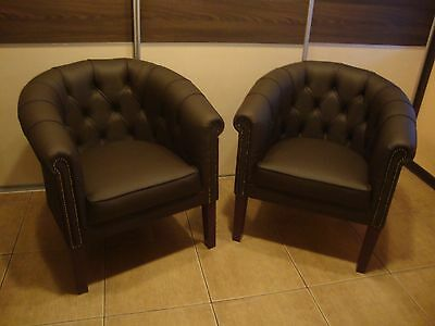 Chesterfield Vicorian tub chair. Brand new! Single studs!