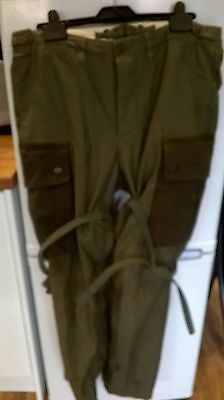 WW2 US 101st Airborne Band of Brothers m43 Trousers