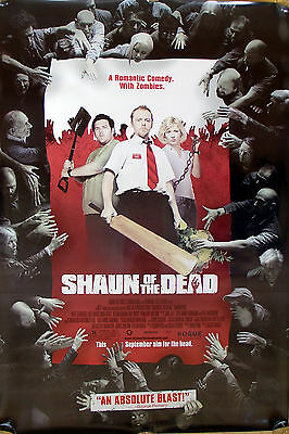 Shaun of the Dead One sheet near mint double sided