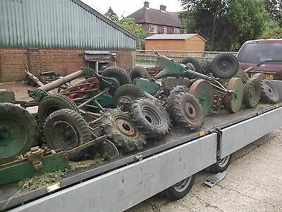 Breaking Ransomes Tractor Gang Mowers For Spare Parts 1 Tow Bar Pin