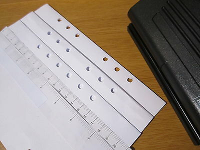 Adjustable 6 Hole Punch -  Filofax, Mulberry, LV .. in fact most organisers !