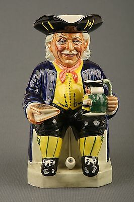 Kevin Francis Vic Schuler Toby Jug signed by Vic.