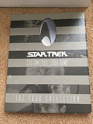 Star Trek Collectible Card Game CCG Fajo Collection Complete Set 1E 1st Edition