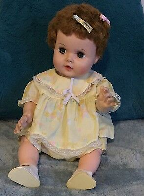 Vintage 1950s American Character Doll Vinyl Body Toodles Collectible Great Cond.