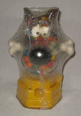 Vintage Scooby Doo Figural Gumball Machine in Original Shrink Wrap Unused #BM4