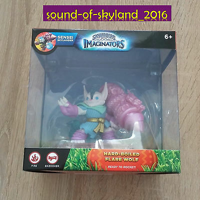 HARD BOILED FLARE WOLF  -  Skylander Imaginators