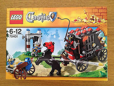 LEGO CASTLE 70401 Gold Getaway Brand New & Sealed (Discontinued)