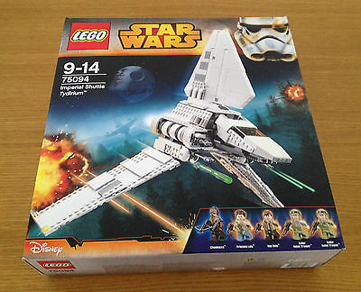 LEGO STAR WARS 75094 Imperial Shuttle Tydirium Brand New & Sealed (Discontinued)