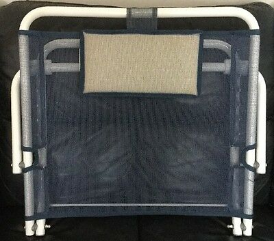 Heavy Duty Deluxe Disability Adjustable Fabric Bed Back Rest Support