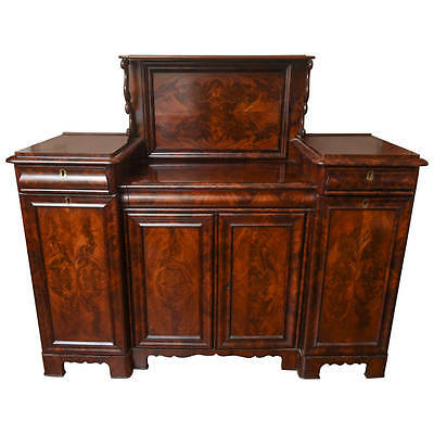 Antique Mahogany Server ,Sideboard ,Buffet also Sectarie Writing Desk For Office