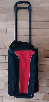 2    Ten Pin   BOWLING  BALLS  and Trolley Bag