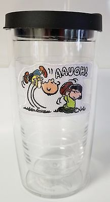 Tervis Peanuts Charlie Brown & Lucy Football Tumbler, 16-Ounce