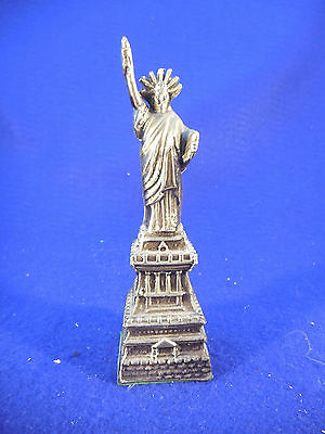 "Metal Souvenir From Statue Of Liberty 5 3/4"" Vintage"