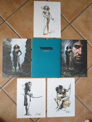 Portfolio Thorgal Kriss 5 Dessins